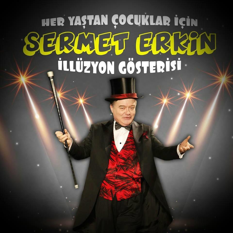 Sermet Erkin İllüzyon Gösterisi   Sabancı Kültür Merkezi