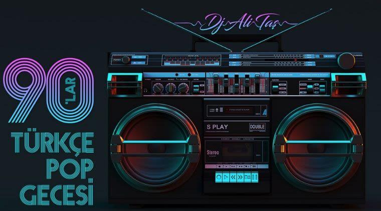 DJ Ali Taş ile 90'lar Türkçe Pop Parti | Hayal Kahvesi Kocaeli