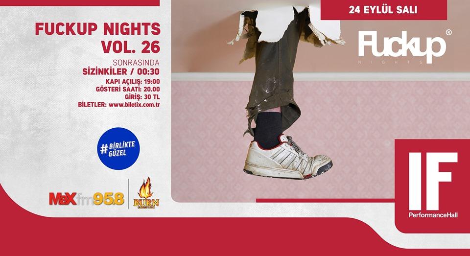 Fuckup Nights Vol. 26 | IF Tunus