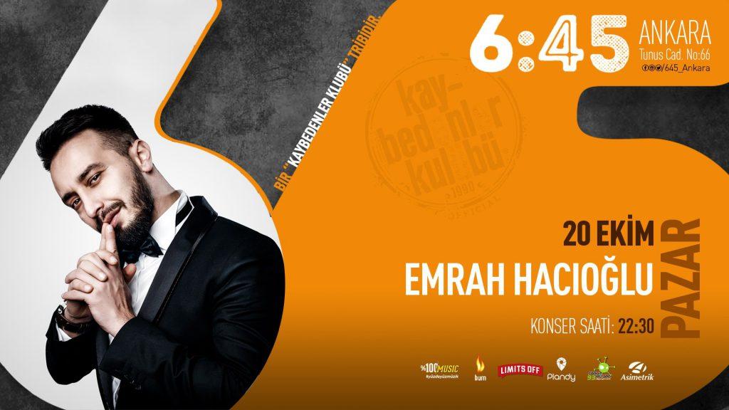 Emrah Hacıoğlu   6:45 KK Ankara