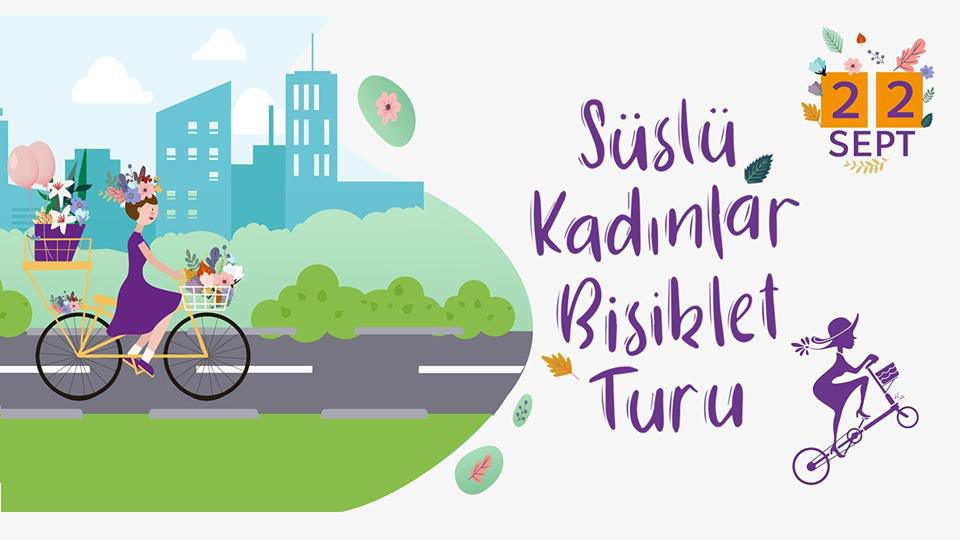 Süslü Kadınlar Bisiklet Turu | Fethiye