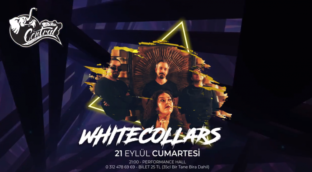 Whitecollars | Central Performance Hall