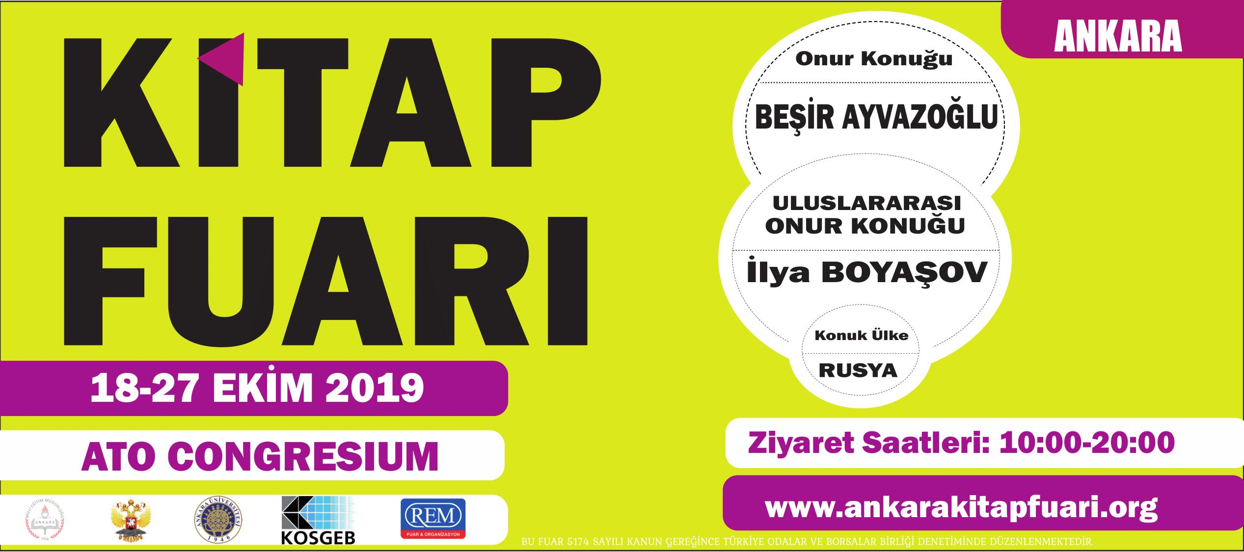 Ankara Kitap Fuarı 2019 | Congresium