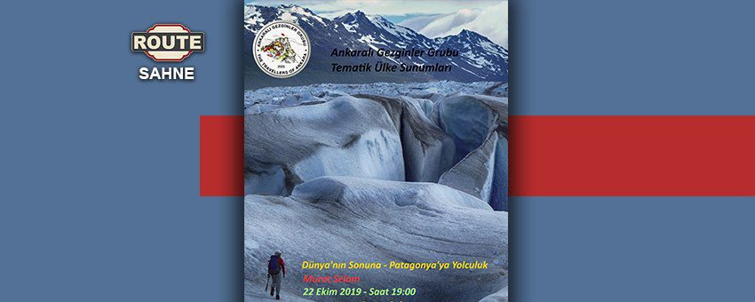 Murat Selam - Dünya'nın Sonuna: Patagonya'ya Yolculuk   Route