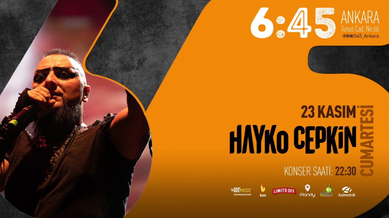 Hayko Cepkin | 6:45 Ankara