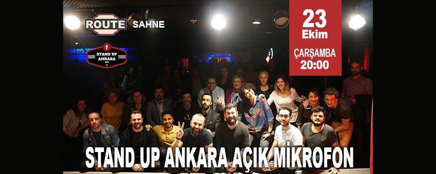 Stand Up Ankara Açık Mikrofon   Route