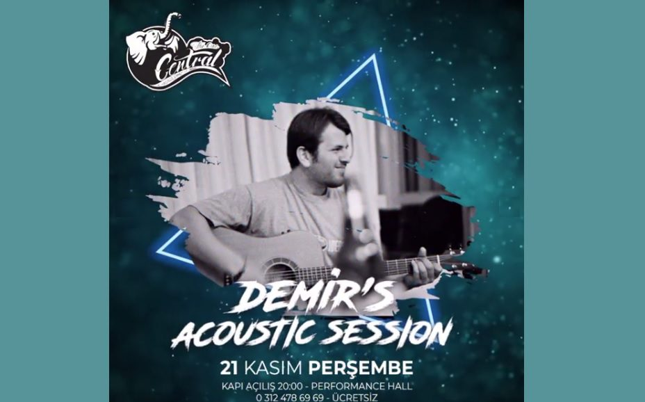 Demir's Acoustic Session   Central Performance Hall