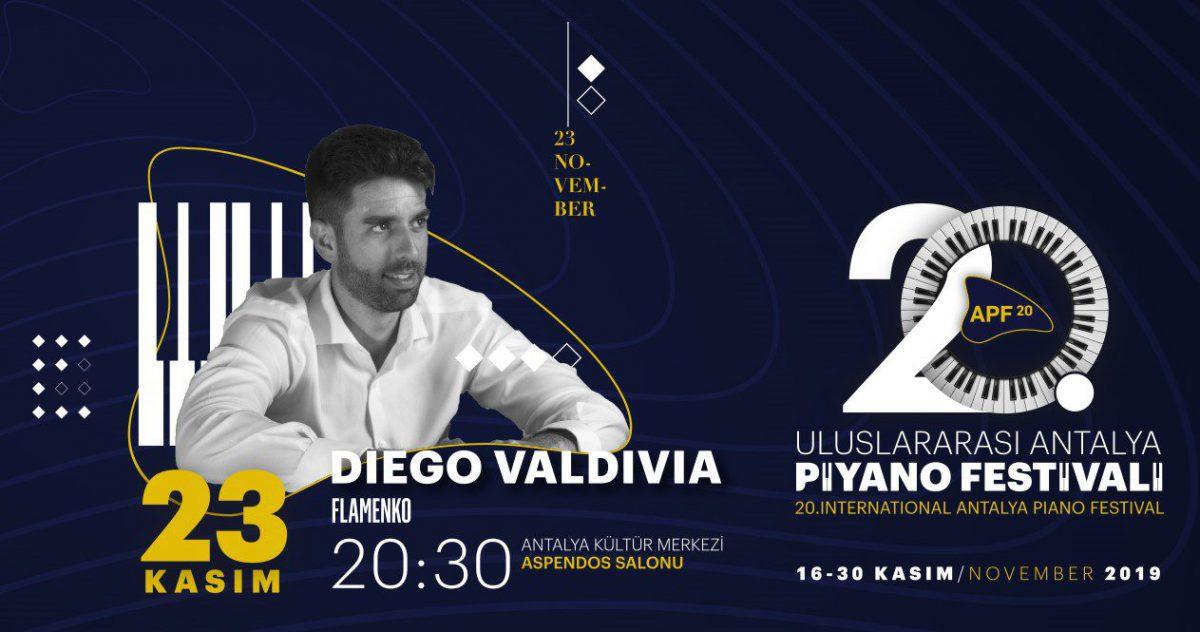 Diego Valdivia   20. Uluslararası Antalya Piyano Festivali