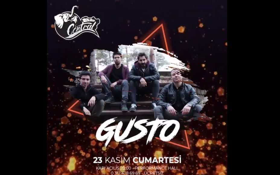 Gusto | Central Performance Hall
