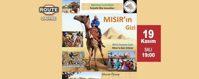 Murat Özsoy - Ankaralı Gezginler | Route