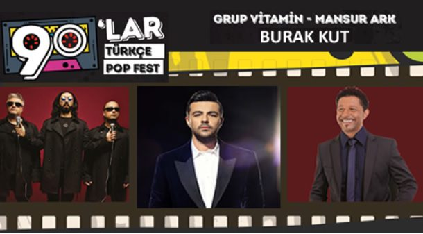 90'lar Fest Burak Kut - Mansur Ark - Grup Vitamin - DJ Hakan Küfündür | Hayal Kahvesi Kocaeli