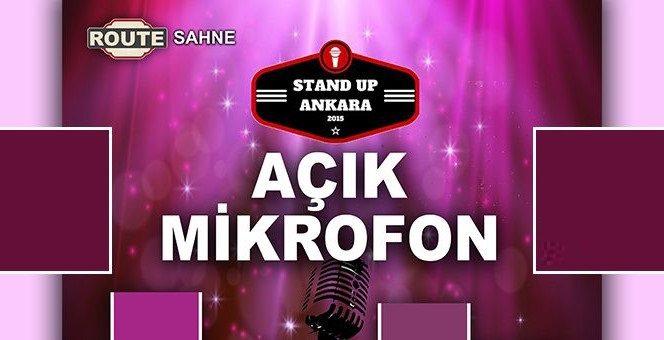 Stand Up Ankara Açık Mikrofon | Route