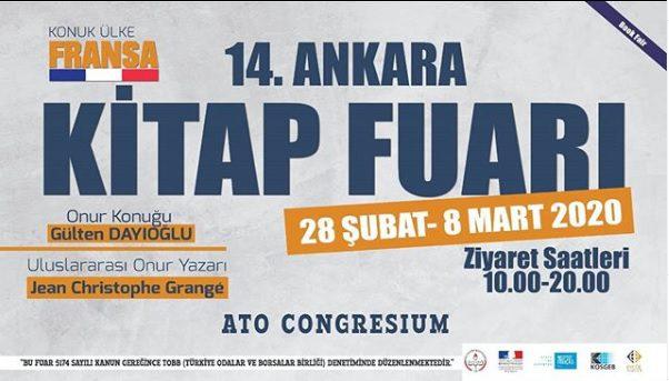 14. Ankara Kitap Fuarı 2020