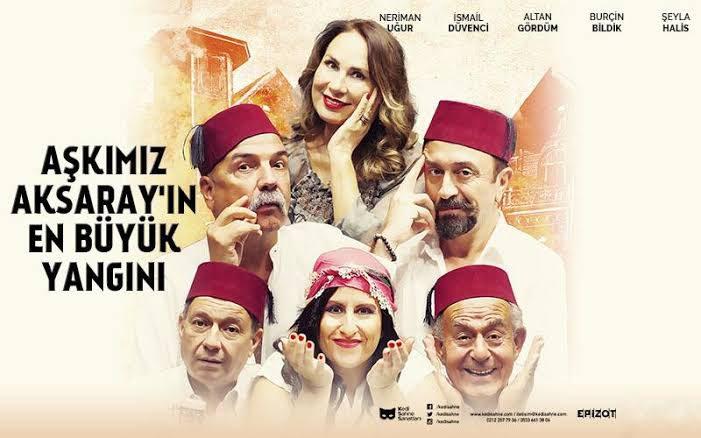 Aşkımız Aksaray'ın En Büyük Yangını | Caddebostan Kültür Merkezi