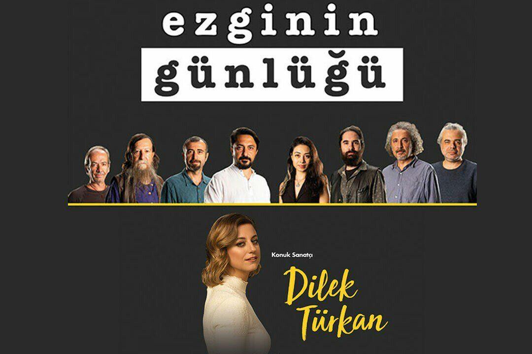 Ezginin Günlüğü - Konuk Sanatçı: Dilek Türkan   Suat Taşer Tiyatrosu