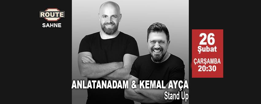 Anlatanadam - Kemal Ayça Stand Up Special | Route