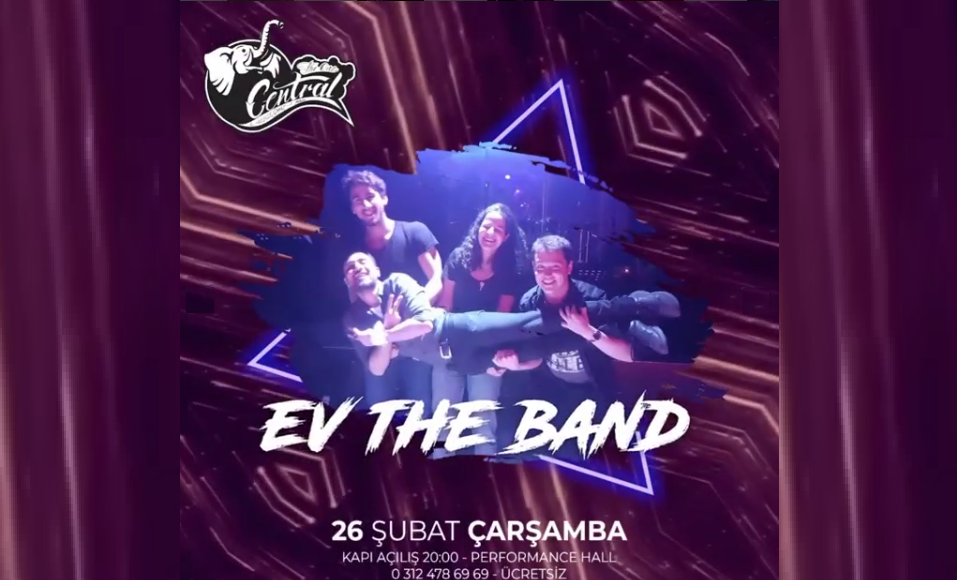 Ev The Band | Central Performance Hall