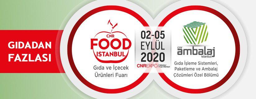 Food Istanbul - Gıda ve İçecek Ürünleri, Gıda İşleme Teknolojileri Fuarı 2020