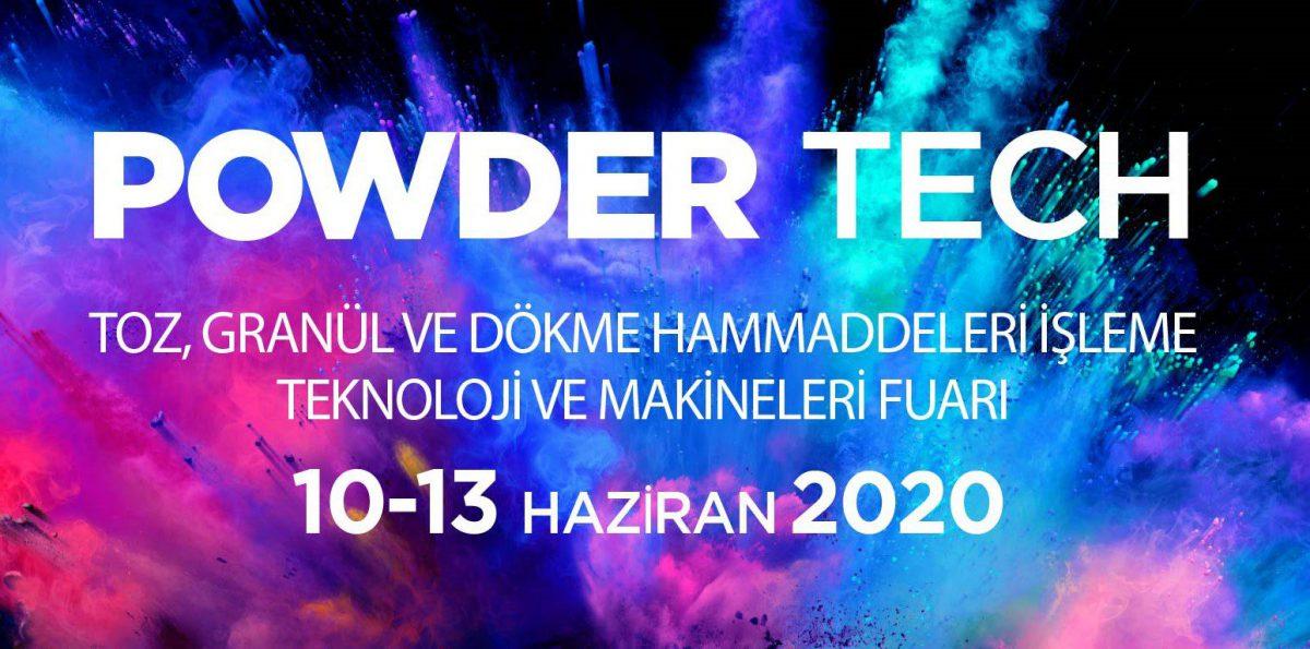 Powder Tech Toz, Granül ve Dökme Hammaddeleri İşleme Teknoloji ve Makineleri Fuarı 2020
