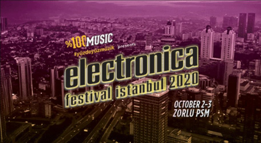 Electronica Festival İstanbul 2020 | Backstage & Kombine Presented by %100 Music
