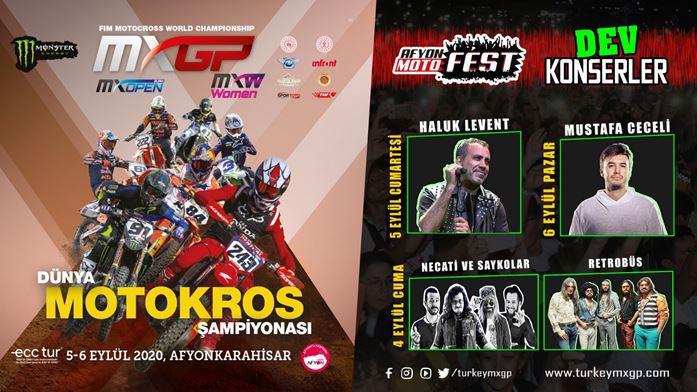 FIM Dünya Motokros Şampiyonası 2020 | Afyon MotoFest