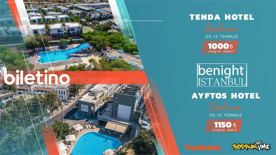 Ayftos Hotel 3 Gece 4 Gün Bodrum (Gümbet) Tatili
