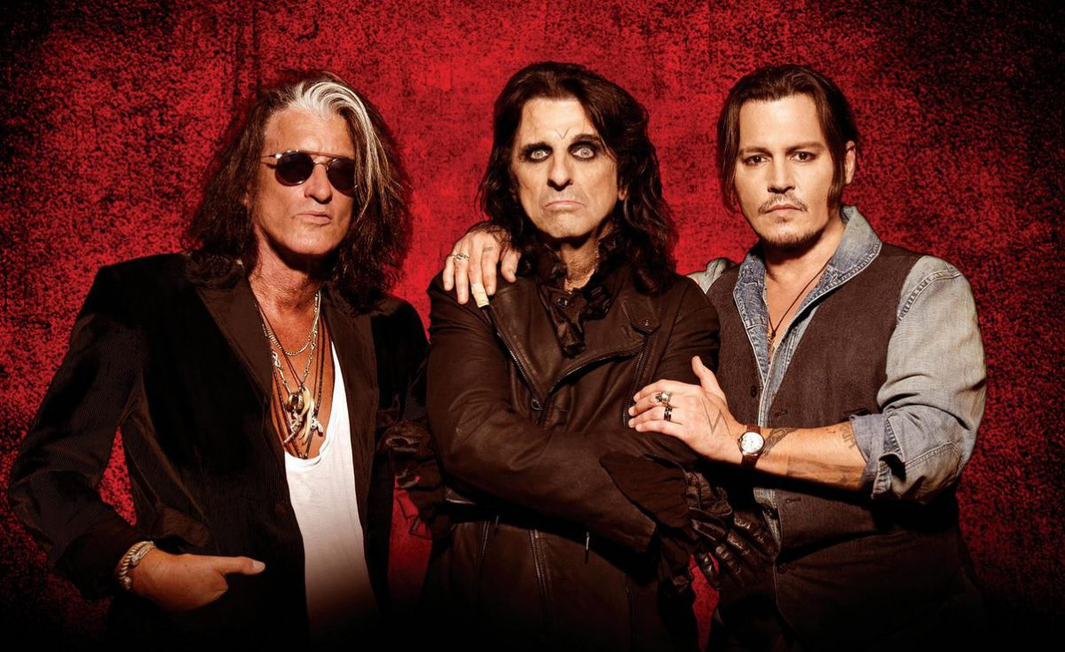 Hollywood Vampires & Johnny Depp - Alice Cooper - Joe Perry | Life Park