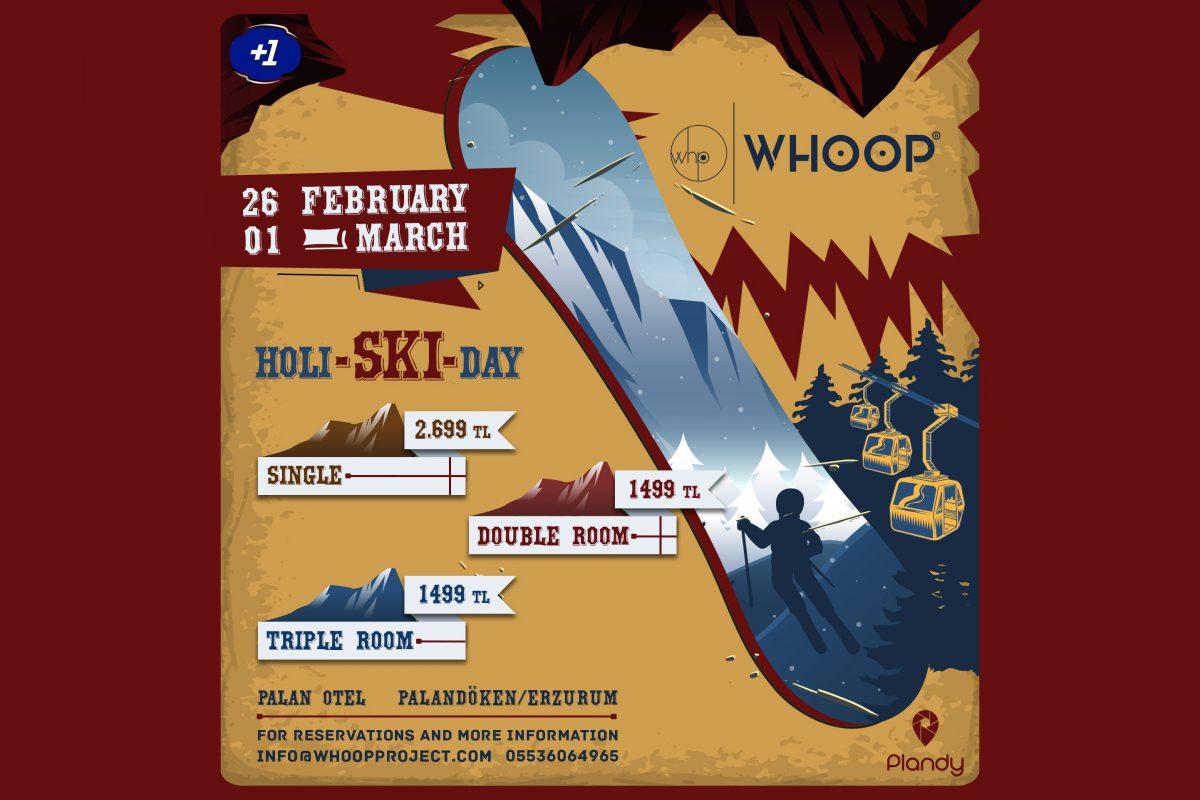HOLI - SKI- DAY | Whoop